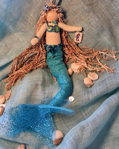 Handmade Mermaid ornament - GALENE