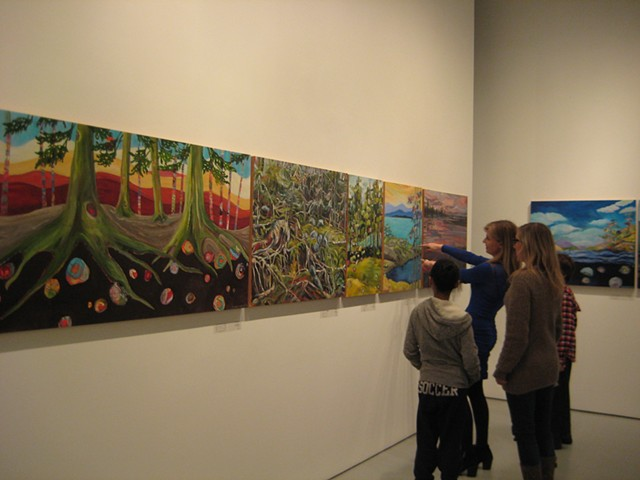 """Exquisite Landscape"" opening at Cityscape Gallery"