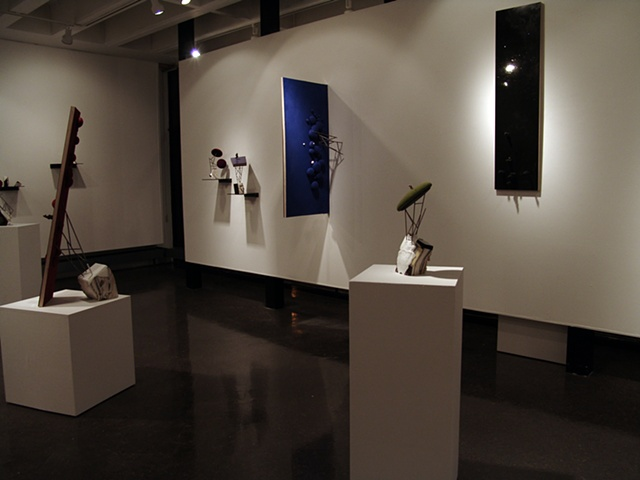 Installation Views from Flora + Fauna  at Umass Lowell