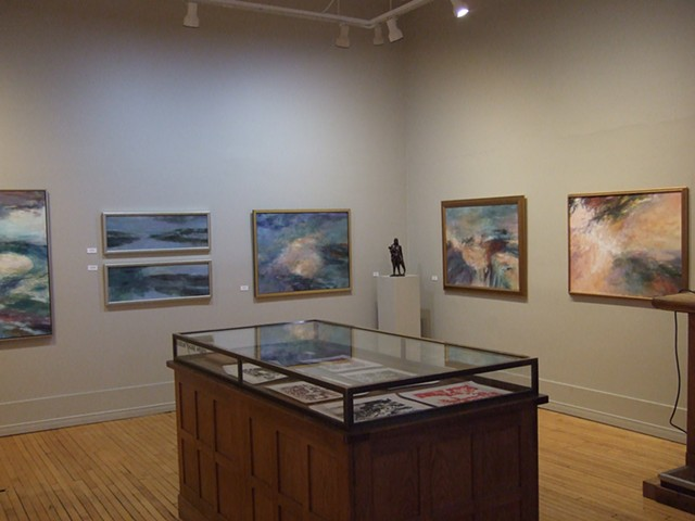 Installation view GALLERY ON THE BAY