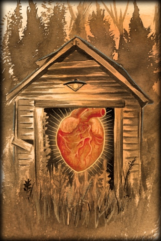heart in a shed