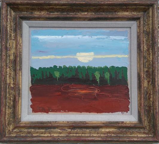 Fine art, Contemporary Art, Scotland,  Stella M Kinread, Landscapes, townscapes, cityscapes,