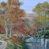 Millenium Walk, River Devon, Kinrossshire, in Autumn