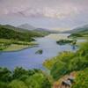 Distant Schiehallion, Queen's View, Loch Tummel, Pitlochry