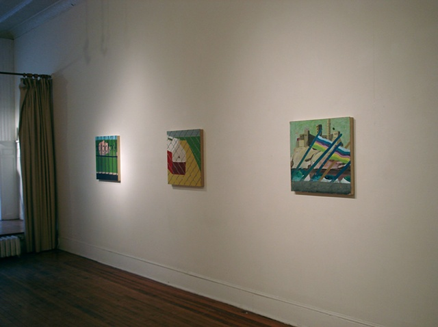 Installation: Short Echo Prisms, AFA Gallery, Scranton, PA