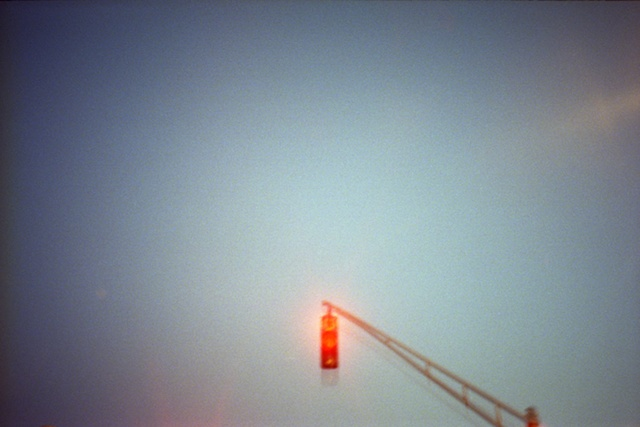 color photograph of stop light by iris grimm