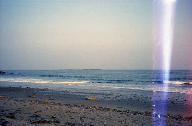 color photograph of shoreline