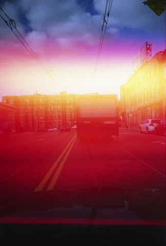 color photograph of truck by iris grimm