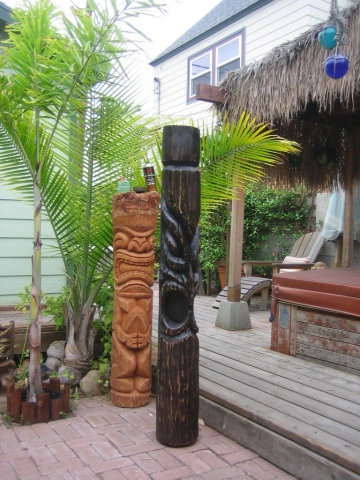 The  black tiki