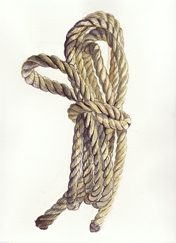 yellow rope