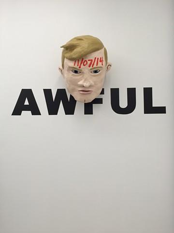 AWFUL Inside Samsøñ (head + text detail)