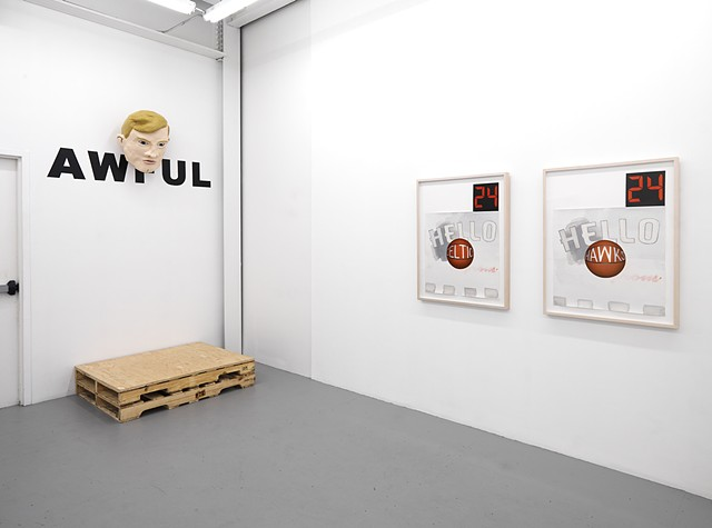 """Poet & AWFUL"" exhibition view 4"