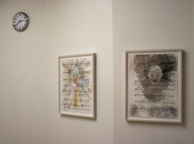 """""""Craig Drennen Is Awful"""" installation view 1"""