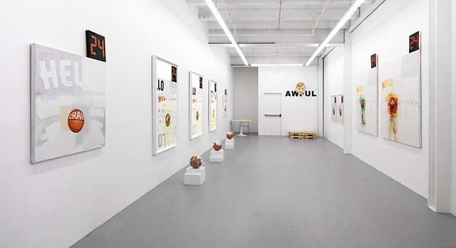 """Poet & AWFUL"" exhibition view"