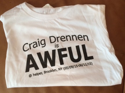 Craig Drennen Is Awful (t-shirt)