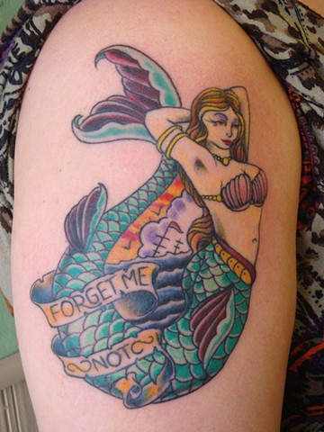 steve anderson, 920 tattoo, tattoos, traditional, traditional tattoos, mermaid, mermaid tattoos, nautical tattoos, oshkosh, wisconsin, oshkosh tattoos, ink, inked, traditional, bold will hold, bold