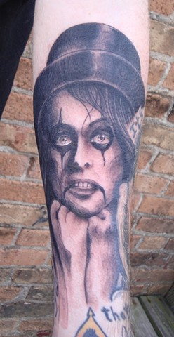 Steve Anderson, 920 Tattoo, 920 tattoo co, 920 tattoo company, alice cooper, alice cooper tattoo, portrait tattoo, portrait, tattoo tattoos