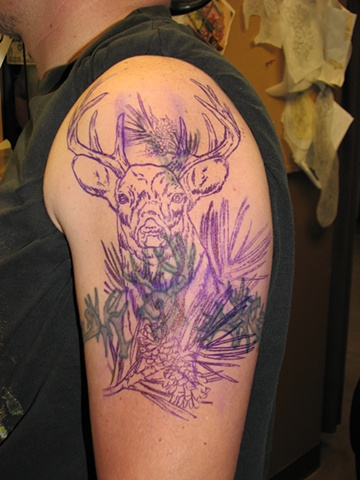 Tattoo, Steven Anderson, 920 Tattoo Company, Oshkosh, tattoo shop oshkosh