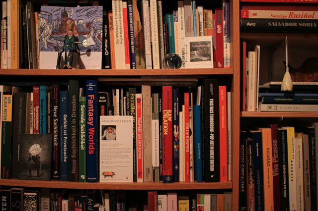 Kunst Biblio: The book on Michael's shelf