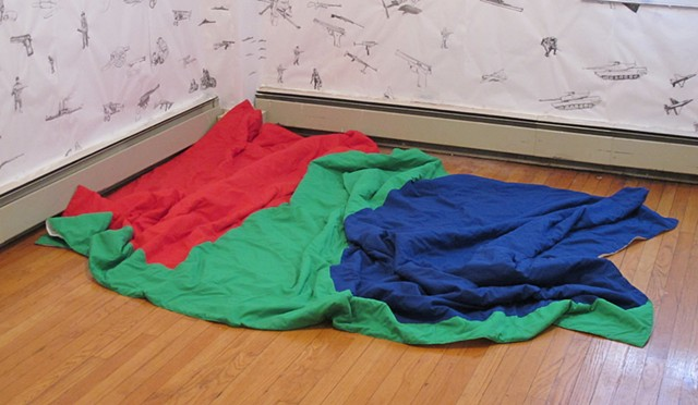 Ellsworth Kelly RedBlueGreen Quilt
