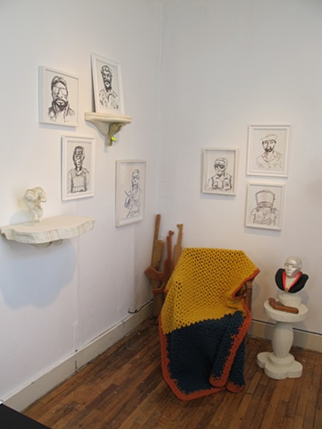 installation view at Norte Maar