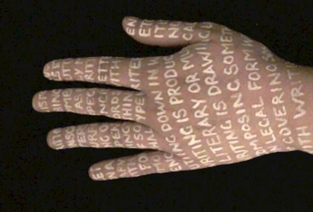Reading/Writing (Hand)