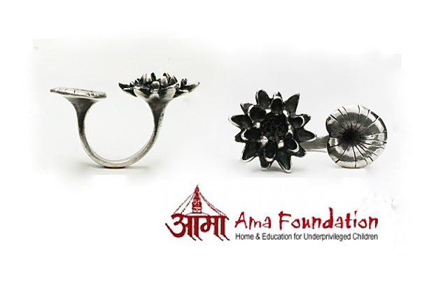 Padma Ring for the Ama Foundation.  Visit www.amafoundation.org to learn more.