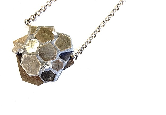 Unearthed: Necklace by Jennifer Lawrence Bennett