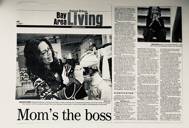 Oakland Tribune : Bay Area Living : Mom's the Boss