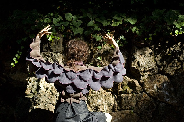 SCULPTURAL WEARABLE: cloth