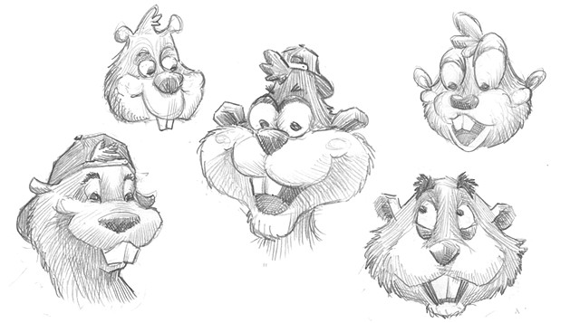Bix the Beaver Concepts