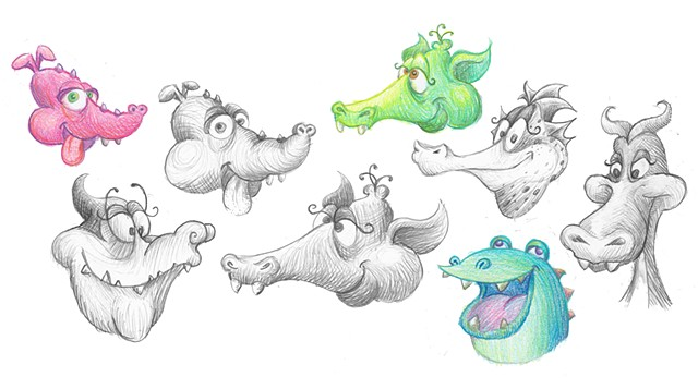 Dopey Dragon Concepts