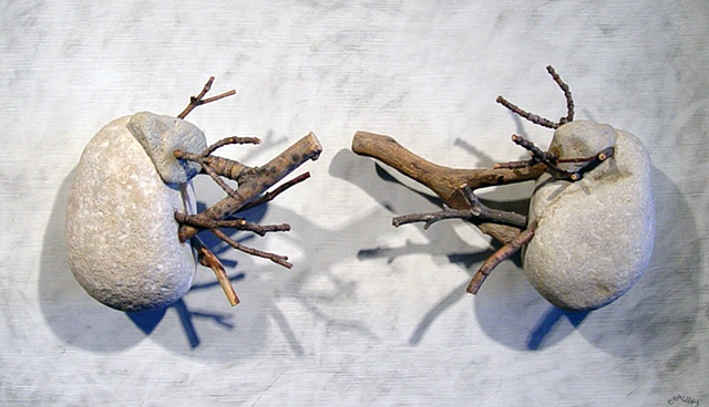 "Ian Crawley Art Sculpture Gods Prototype The nature of man ""Kidneys"" by Ian Crawley"
