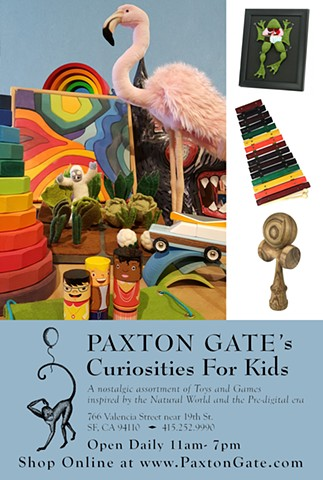 Paxton Gate's Curiosities for Kids Store Postcard