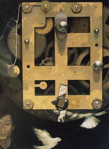 Self-Portrait with Machine