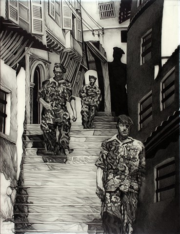 Soldiers in the Casbah