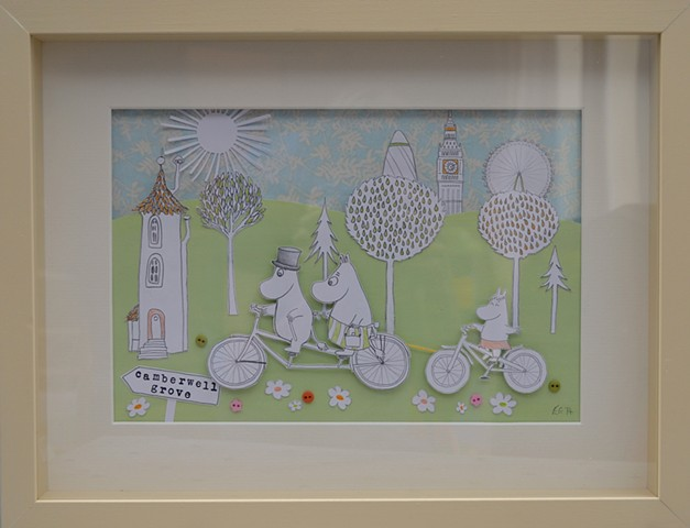 Moomin Collage