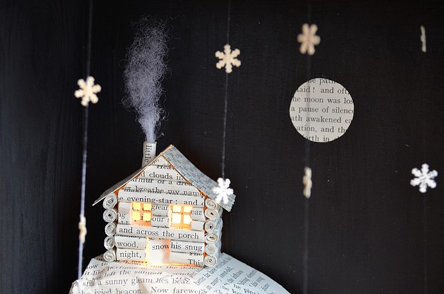 'Log Cabin' lightbox - detail