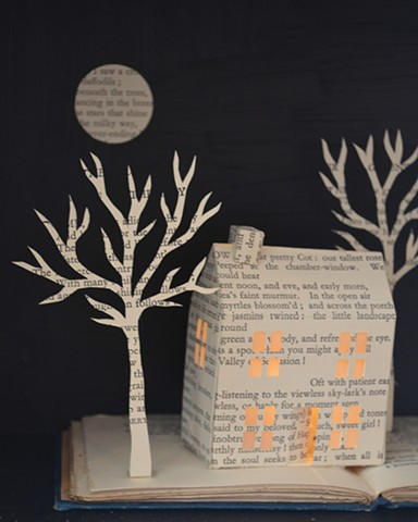 'Cottage' lightbox - detail