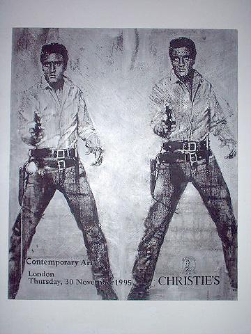 Silver Double Elvis