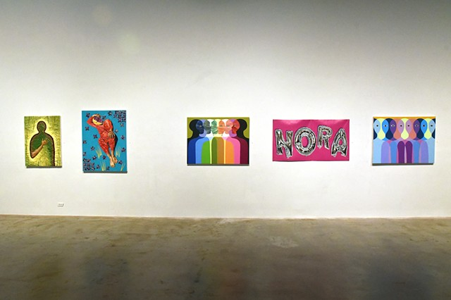 Collective Likeness Installation View