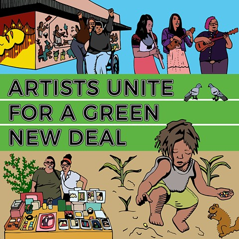 Artists Unite for a Green New Deal