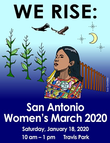 We Rise: San Antonio Women's March 2020