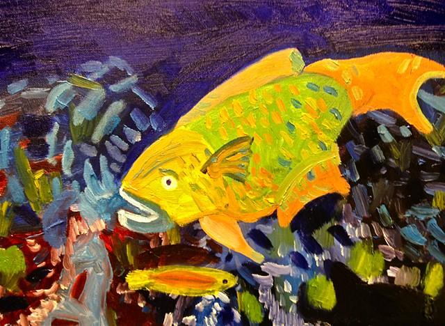 Parrotfish #1 (SOLD!)