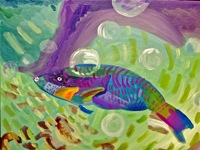 Parrotfish #5 SOLD!!!