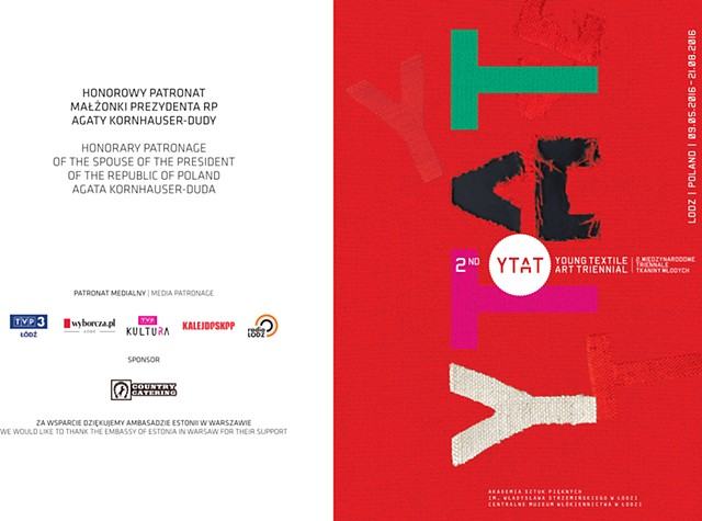 2nd Young Textile ART Triennial-YTAT 2016