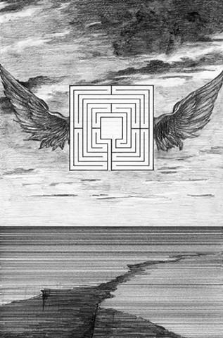 Daedalus wings landscape labyrinth