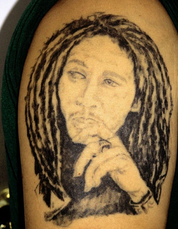 bob marley tattoo by tatupaul