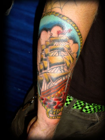 traditinal sailor jerry tattoo by tatupaul