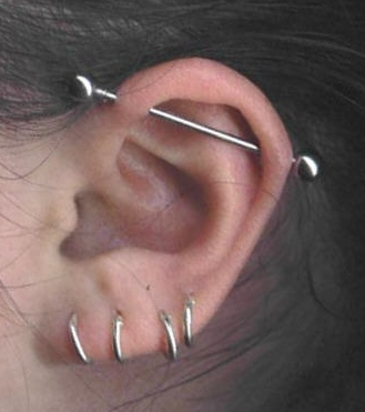 industrial piercing by tatupaul